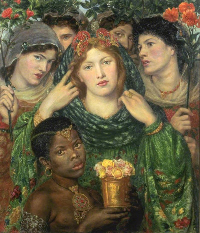 Dante_Gabriel_Rossetti_-_The_Bride_-_WGA20108